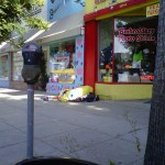 Homeless Spongebob spotted in Sherman Oaks