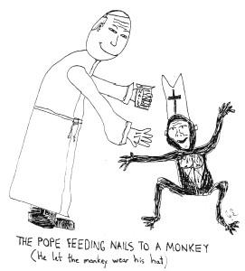 pope&monkey