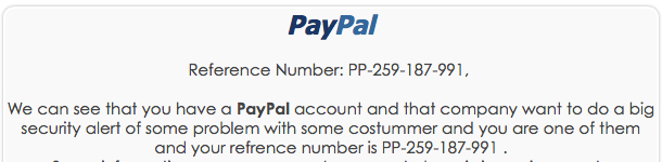 PaypalScam